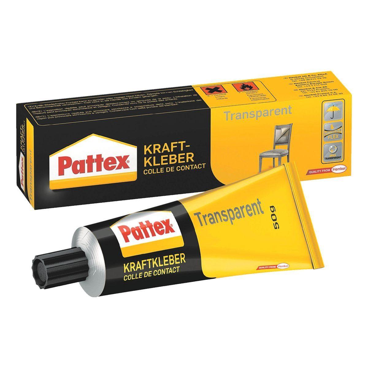 Pattex Kraftkleber »Transparent«