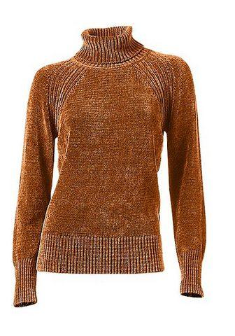 CASUAL пуловер weiche Chenilleware