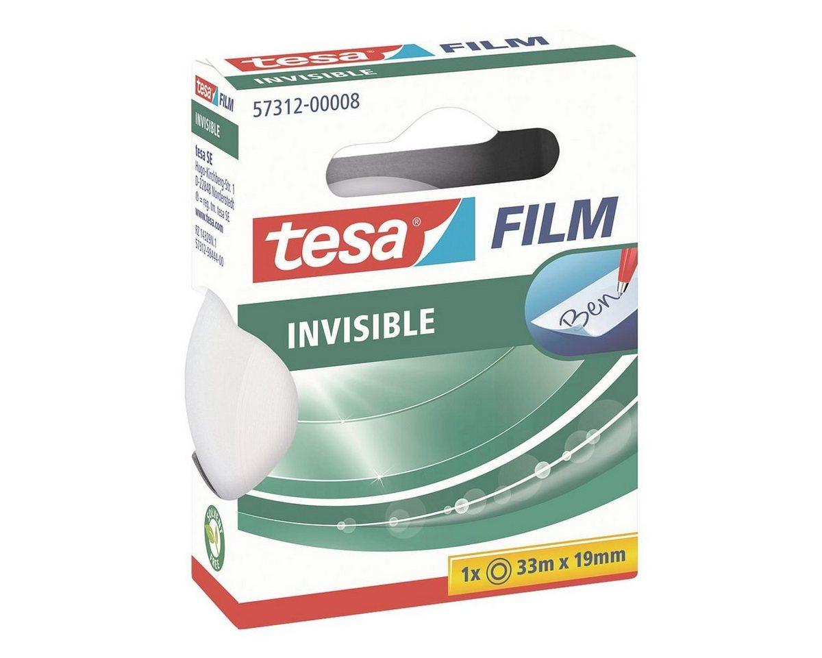 Tesa Klebeband transparent matt 57312, 19 mm/33 m (B/L) »matt-unsichtbar«