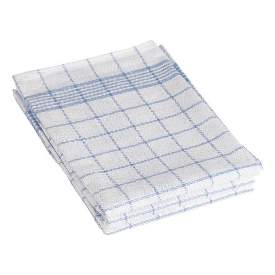Geschirrtücher im 3er-Pack »blau/weiß kariert« | OTTO