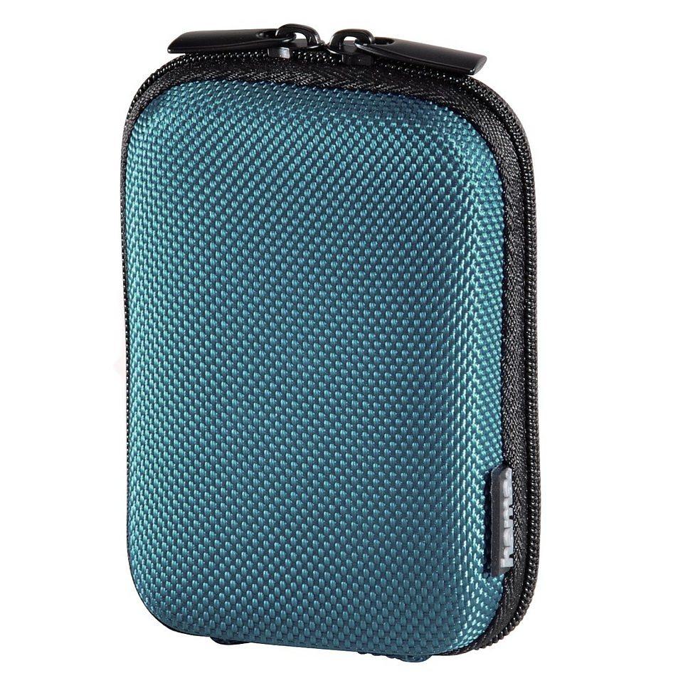 Hama Kameratasche Hardcase Colour Style, 40 G, Petrol in Blau