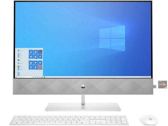HP Pavilion 24-k0013ng All-in-One PC (AMD Ryzen 5, 8 GB RAM, 1000 GB HDD, 256 GB SSD, 60,45 cm (23,8) AMD Ryzen 5,1TB + 256 GB, 8 GB)