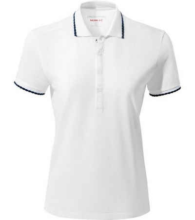 Craghoppers Klassische Bluse »CRAGHOPPERS NosiLife Lina Polo-Shirt klassisches Damen Polo-Hemd mit toller Passform T-Shirt Weiß«