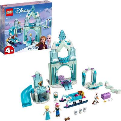 LEGO® Konstruktionsspielsteine »Annas und Elsas Wintermärchen (43194), LEGO® Disney Frozen«, (154 St), Made in Europe