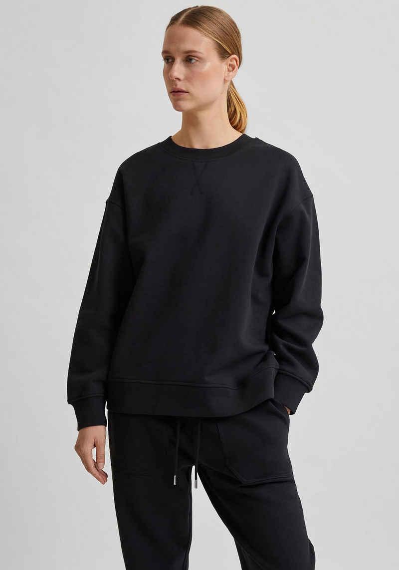 SELECTED FEMME Sweatshirt aus Baumwolle