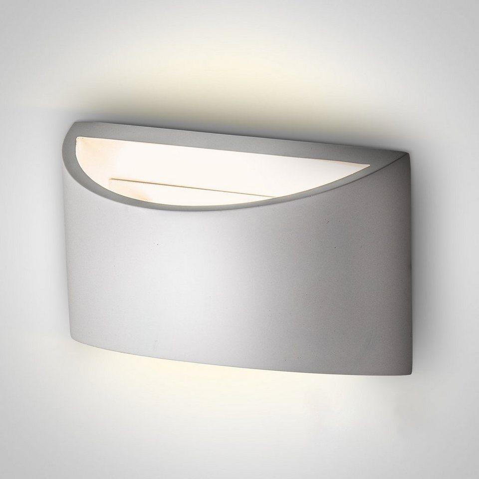 B.K.Licht LED Wandleuchte »Exilia«, LED Wandlampe G7 Fassung Gips Strahler  Flur Wohnzimmer modern IP7 weiß online kaufen  OTTO