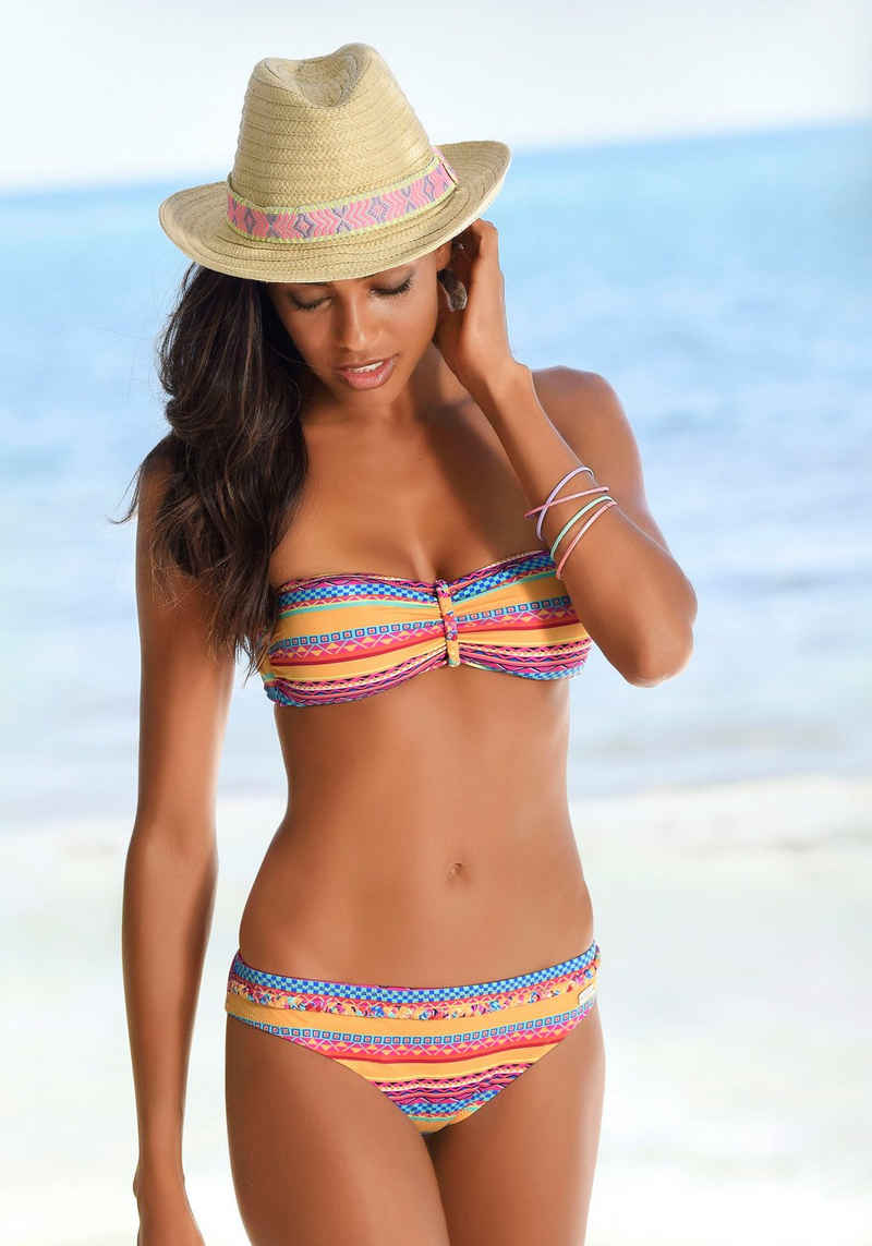 Buffalo Bikini-Hose »Lux«, mit Ziergürtel