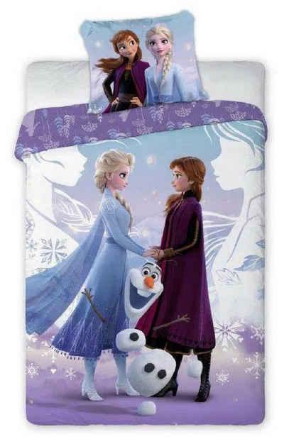 Kinderbettwäsche »Die Eiskönigin Anna Elsa - Kinder Bettwäsche Set 140x200 cm Deckenbezug Frozen 759«, Disney Frozen