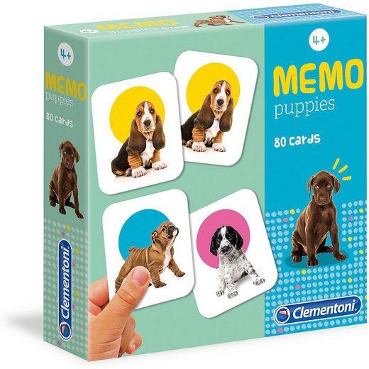 Clementoni® Spiel, »Memo Game - Welpen«