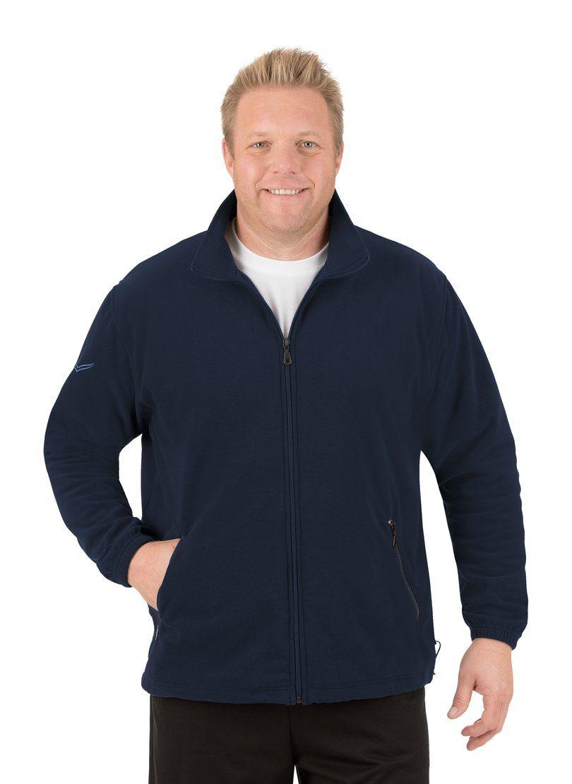 Trigema Mens Herren Fleece Jacke Jacket