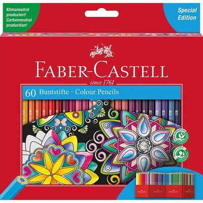 Faber-Castell Buntstift »Sechskant-Buntstifte Castle Special Edition, 60«