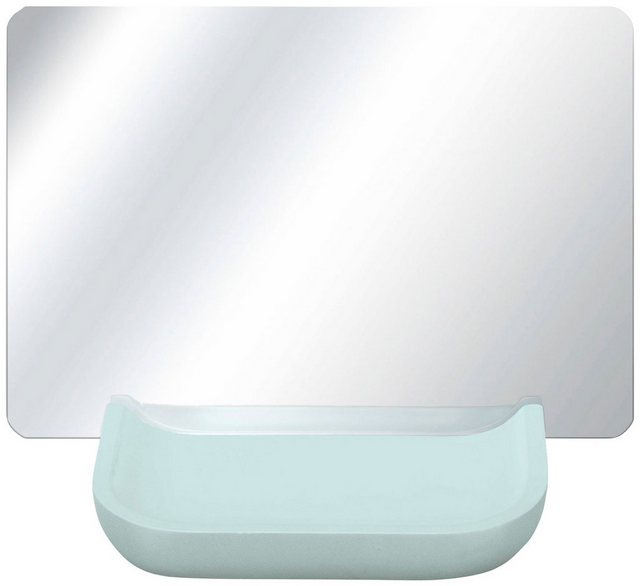 KLEINE WOLKE Kosmetikspiegel »Tray Mirror«, Weiss | Bad > Bad-Accessoires > Kosmetikspiegel | Grün | Kleine Wolke