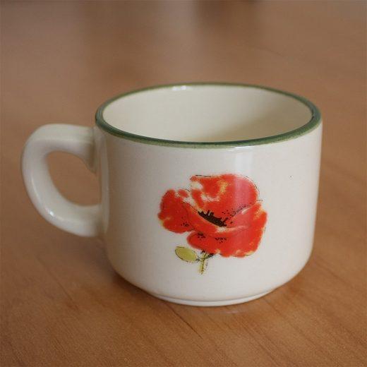 Zeller Keramik Espressotasse »Espresso-Obertasse Kornfeld«, hochwertige Keramik