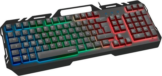 Speedlink »ORIOS Metal« Gaming-Tastatur