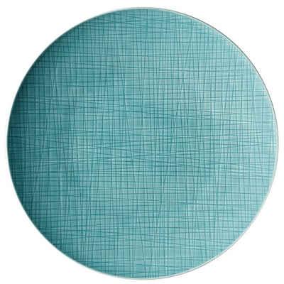 Rosenthal Speiseteller »Mesh Aqua Teller 33 cm flach«
