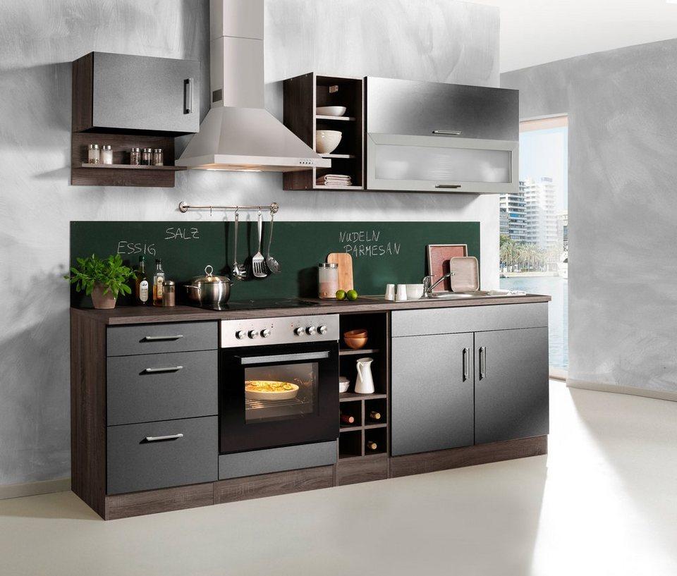 Held Möbel Küchenzeile »Sevilla«, mit Elektrogeräten, Breite 240 cm online  kaufen | OTTO