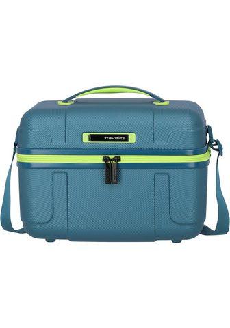travelite Beautycase »Vector Petrol/Limone«