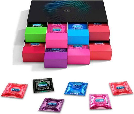 durex Kondome Packung, 70 St., in stylischen Boxen