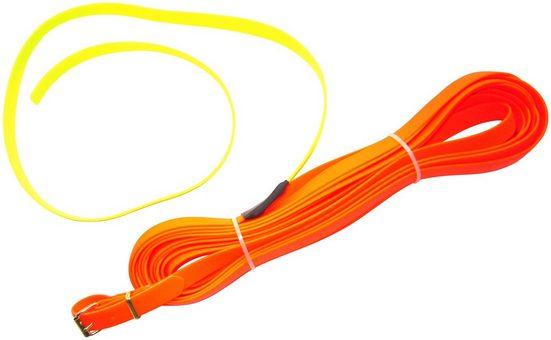 HEIM Schleppleine »Biothane«, neonorange, B: 1,3 cm, in 3 Längen