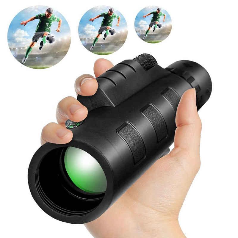 Home safety »Home Safety Monokulare Telescope 40x60 FMC Prisma BAK4 Fernglas Zoom« Monokular