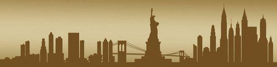 Consalnet Fototapete »New York - Horizont«, für Küchenrückwand