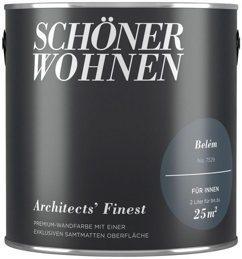 SCHÖNER WOHNEN-Kollektion Wand- und Deckenfarbe »Architects' Finest - Belém«, 2 l