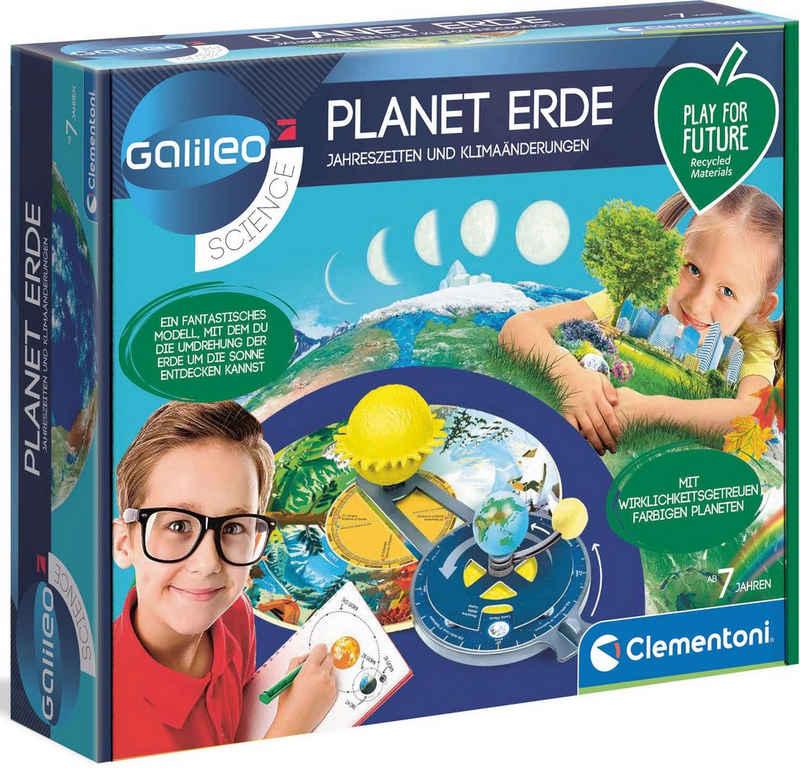 Clementoni® Experimentierkasten »Galileo Planet Erde«, Made in Europe