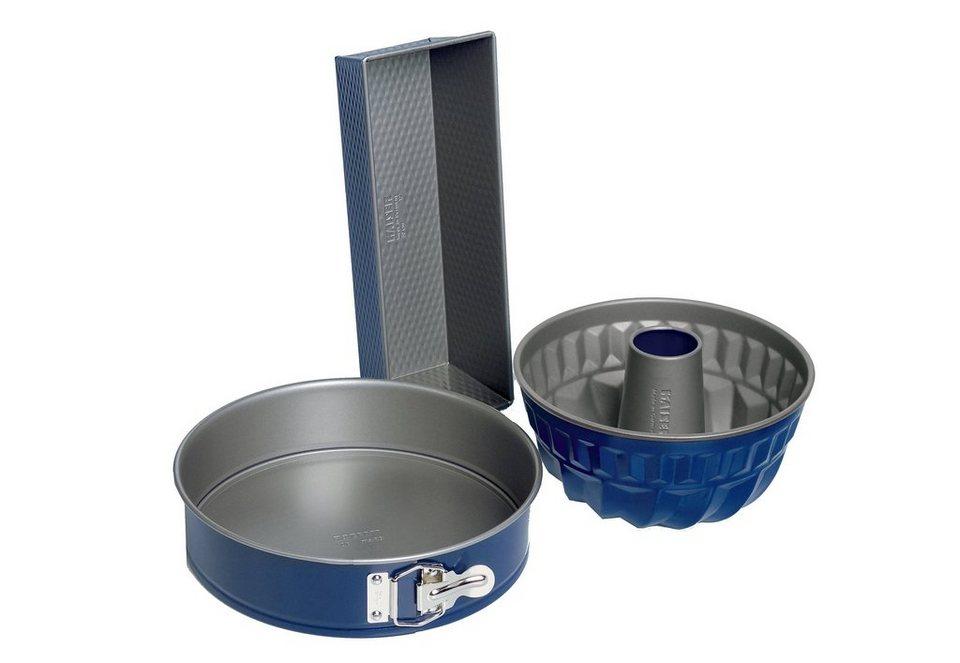 Set: EnergieSPAR-Set, Kaiser, 3 teilig in blau