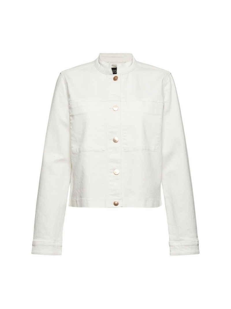 Esprit Collection Jeansjacke »Jeansjacke aus Bio-Baumwolle mit Stretch«