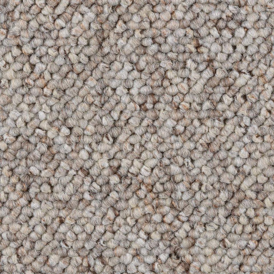 BODENMEISTER 7205151BM002/_350x500 Teppichboden Auslegware Meterware Schlinge grau 400 cm und 500 cm breit Variante verschiedene L/ängen 3,5 x 5 m 5x5m