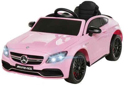 Actionbikes Motors Elektro-Kinderauto »Mercedes Benz C63 AMG«, Belastbarkeit 30 kg, inkl. Fernbedienung