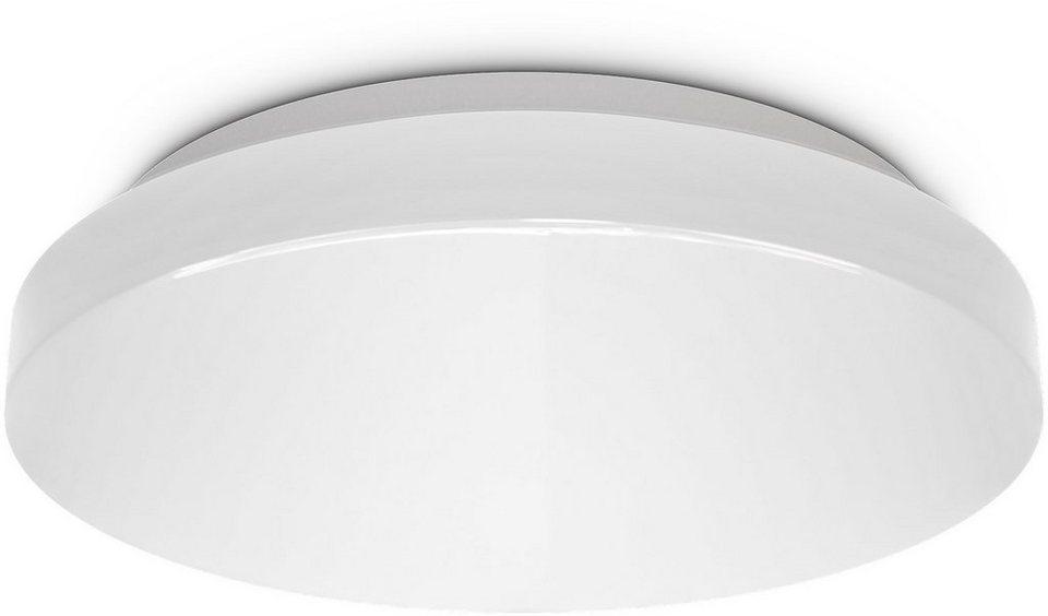 B K Licht Led Deckenleuchte Led Deckenlampe Bad Rund Badezimmer Lampe Flach Ip44 Schlafzimmer Kuche Flur 10w Online Kaufen Otto