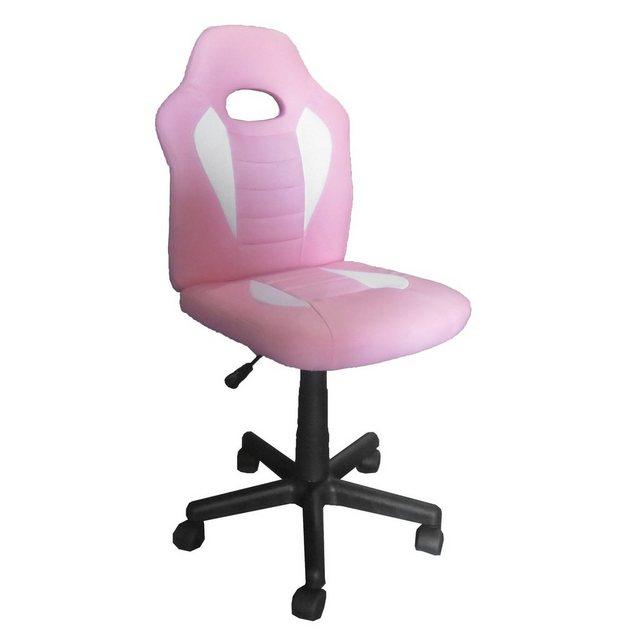 Bürostühle - HTI Line Drehstuhl Daytona »Smart Pink Weiß« » weiß  - Onlineshop OTTO