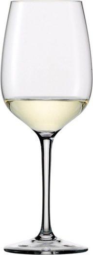 Eisch Weißweinglas »Superior SensisPlus« (4-tlg), (Chardonnayglas), bleifreies Kristallglas, 420 ml
