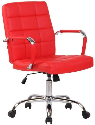 CLP Schreibtischstuhl »Deli PRO Kunstleder«, höhenverstellbar und drehbar