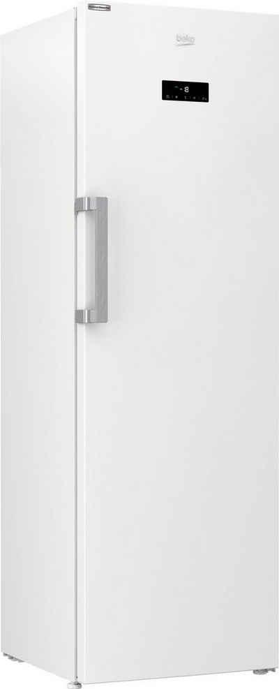 BEKO Gefrierschrank RFNE312E43WN, 185 cm hoch, 59,5 cm breit