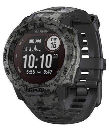 """Garmin Sportuhr »Multisport GPS-Uhr """"Instinct Solar Camo""""«"""