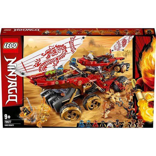 LEGO® Konstruktions-Spielset »LEGO® NINJAGO® 70677 Wüstensegler«