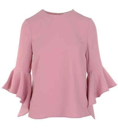 Ted Baker Langarmshirt »TED BAKER LONDON Longsleeve-Shirt stilvolles Damen Sommer-Shirt mit Wasserfall-Ärmel Party-Shirt Rosa«