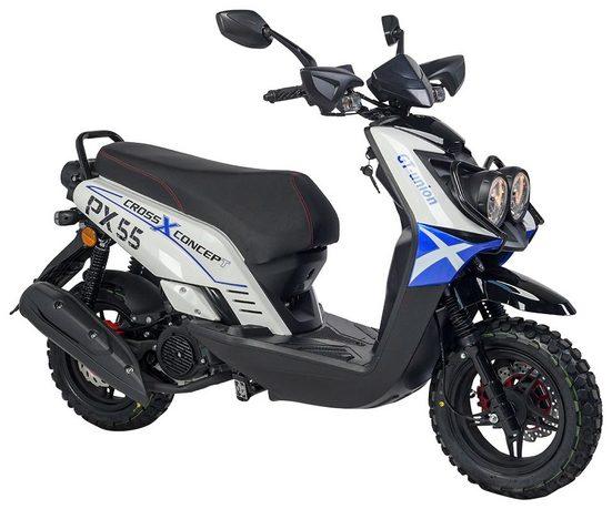 GT UNION Motorroller »PX55 Cross-Concept 125«, 125 ccm, 85 km/h, Euro 4