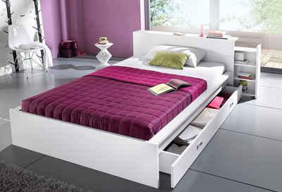 Bett 140x200 mit schubladen  Bett 140x200 cm kaufen » Bettgestell & Doppelbett | OTTO