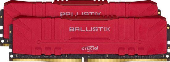 Crucial »Ballistix 16GB Kit (2 x 8GB) DDR4-2666 Desktop Gaming RAM« PC-Arbeitsspeicher