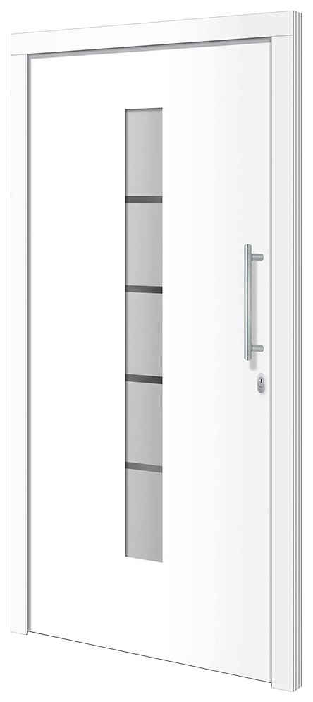 RORO Türen & Fenster Haustür »Otto 2«, BxH: 100x200 cm, weiß/weiß, ohne Griff
