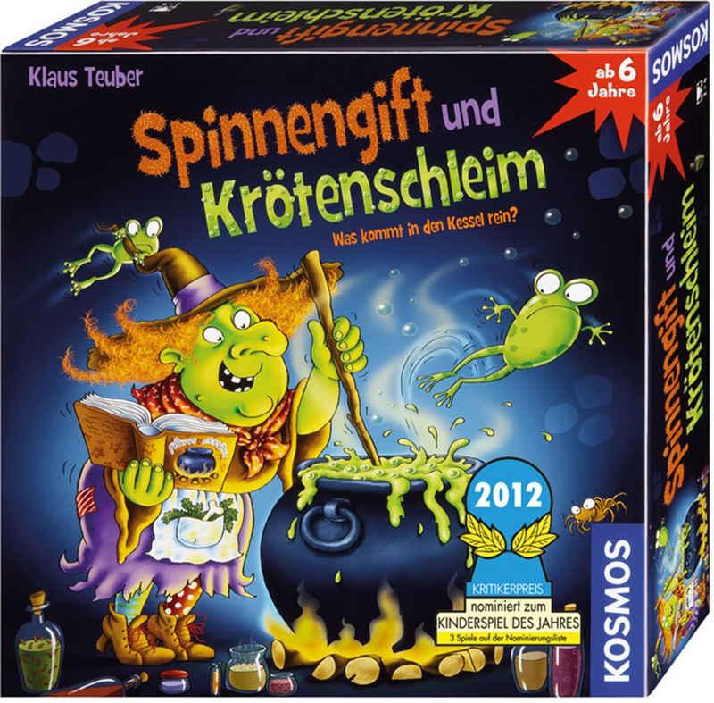 Kosmos Spiel, Kinderspiel »Spinnengift und Krötenschleim«, Made in Germany