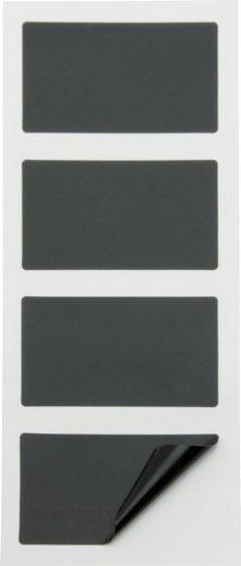 Securit Tafelfolie, 8 cm x 4,7 cm, 8 Teile