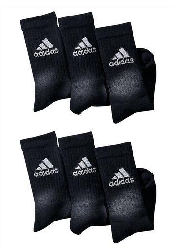 adidas Performance Klassische Sportsocken (6 Paar) mit Frottee