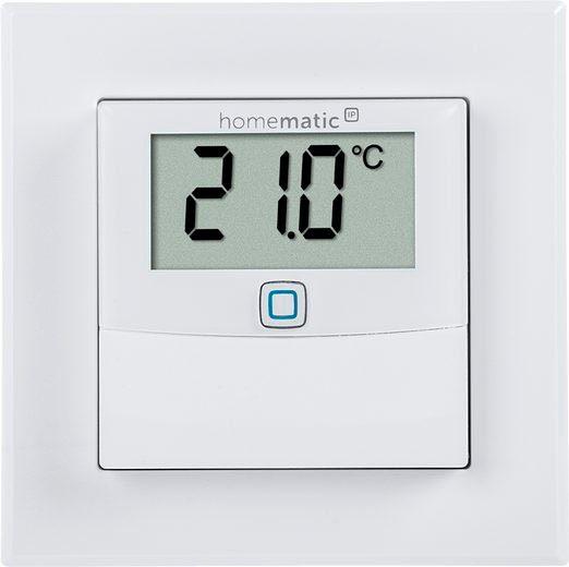 Homematic IP »Temp.-& Luftfeuchtigkeitssensor Display (150180A0)« Smart-Home-Zubehör