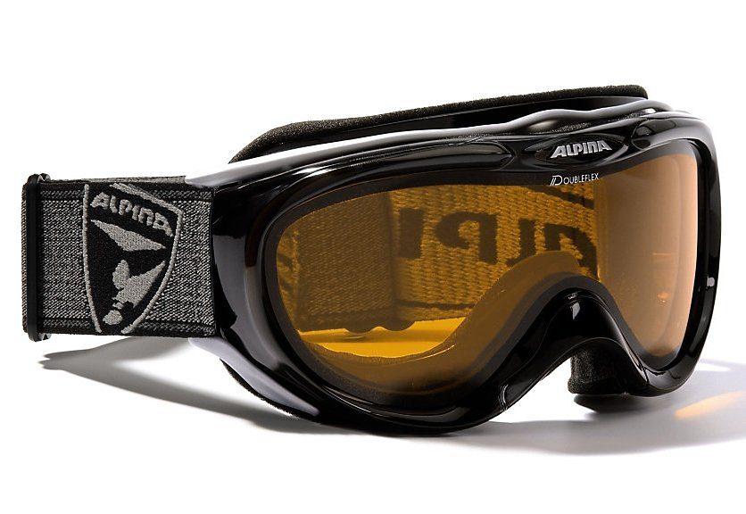 Skibrille, schwarz, Alpina, »Freespirit«, Made in Germany