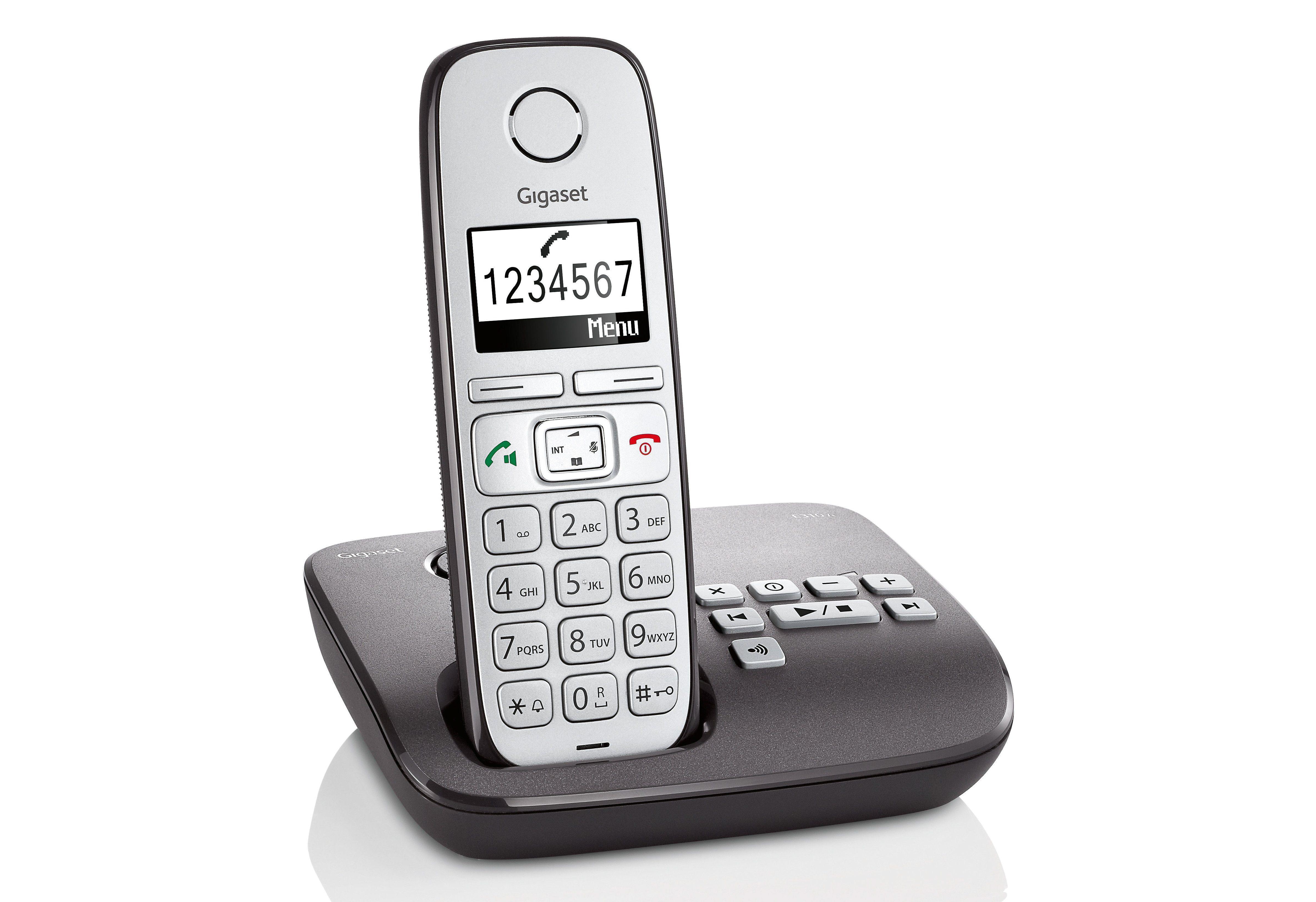 Gigaset E310 A Schnurloses DECT Telefon mit AB