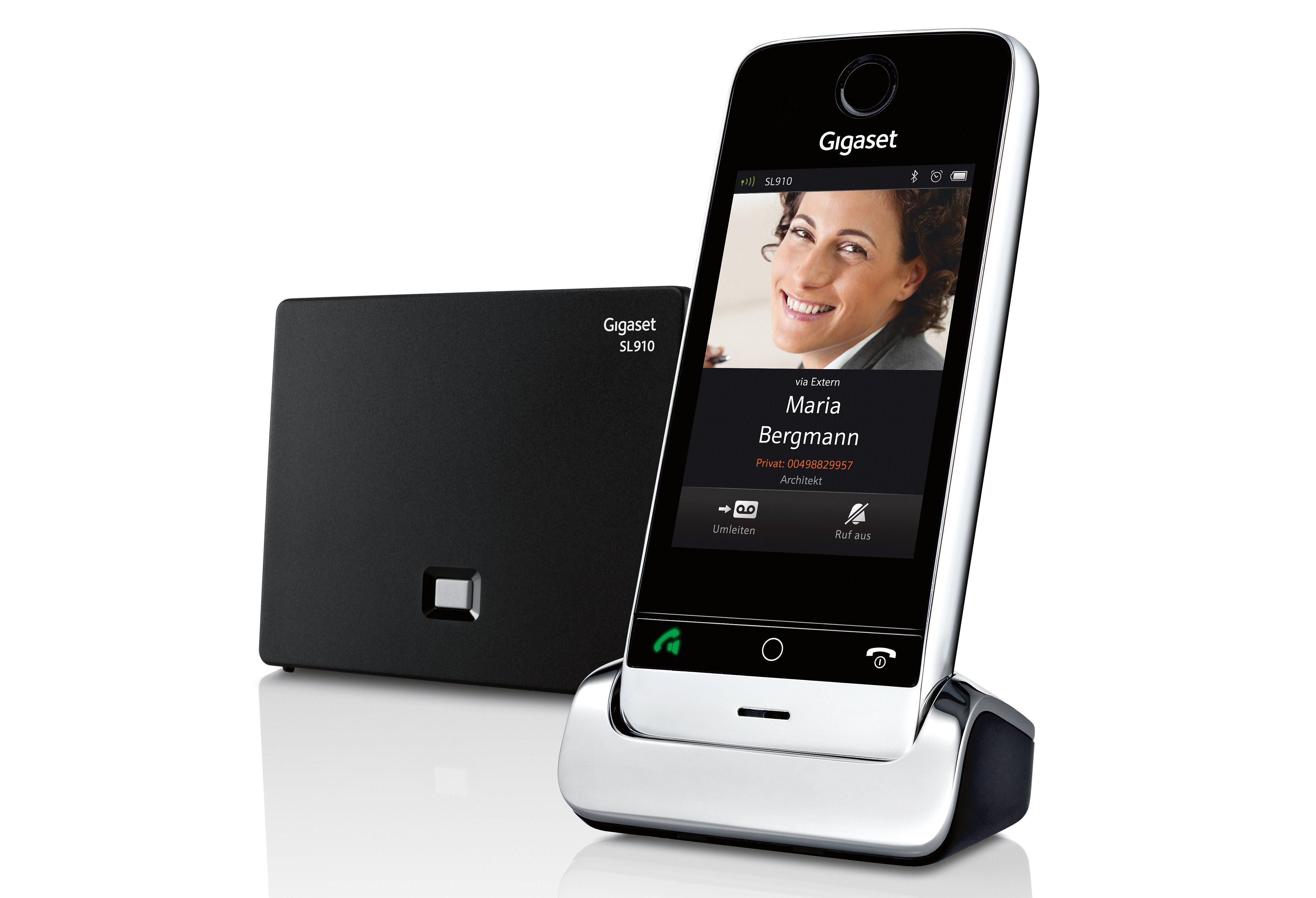 Gigaset SL910 Schnurloses DECT Telefon